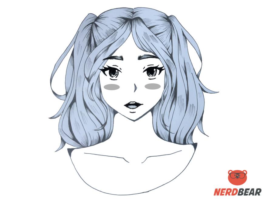 How To Draw Circular Anime Bush 2