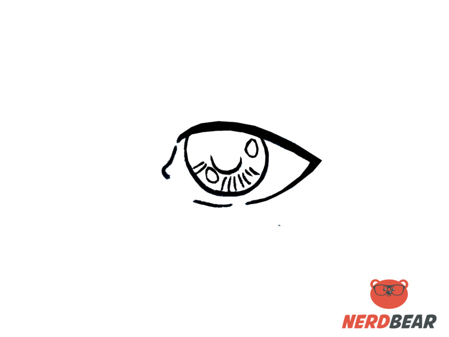 How To Draw Realistic Anime Eyes 5