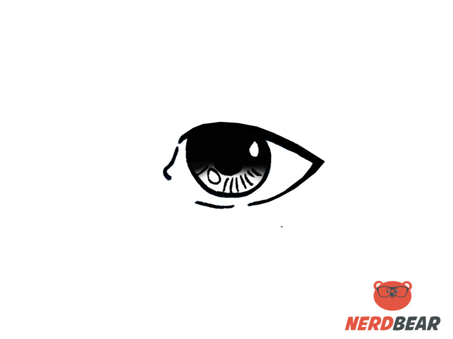 How To Draw Realistic Anime Eyes 7