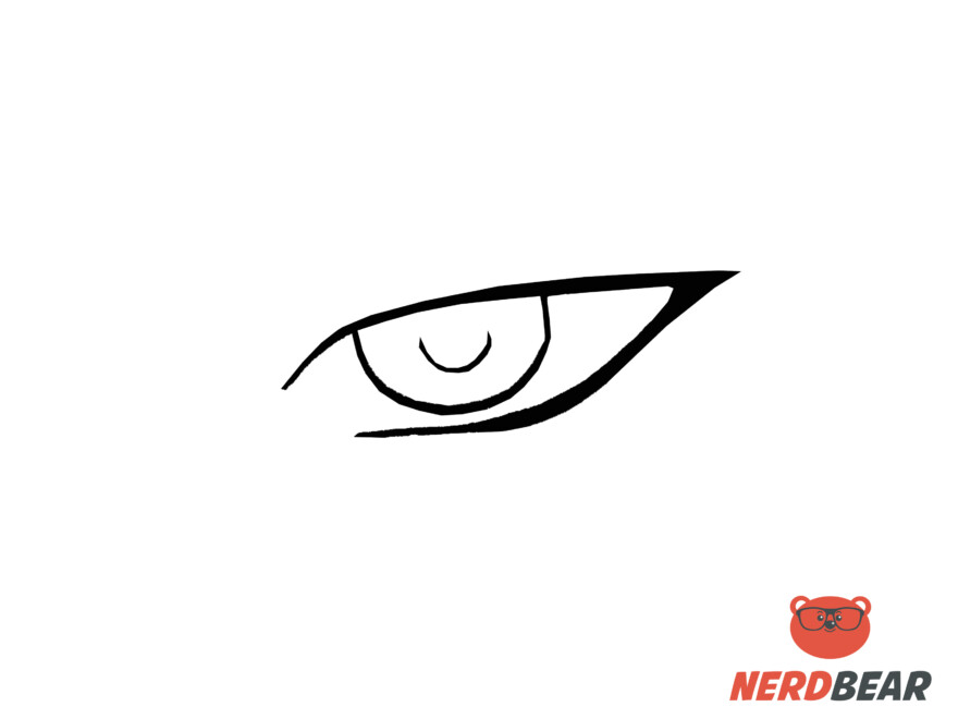 How To Draw Sharp Masculine Anime Eyes 2