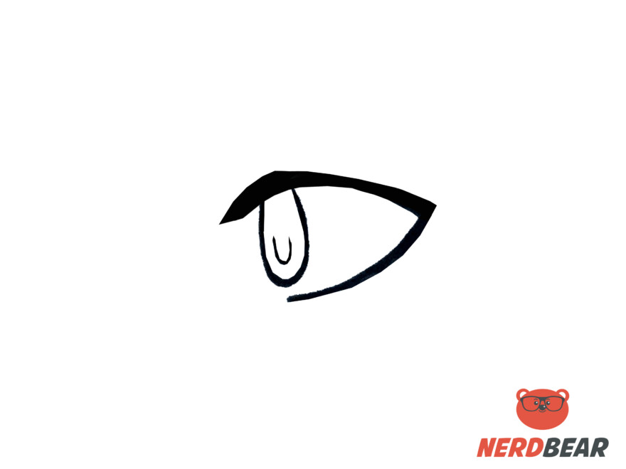 How To Draw Side Profile Anime Eyes 2