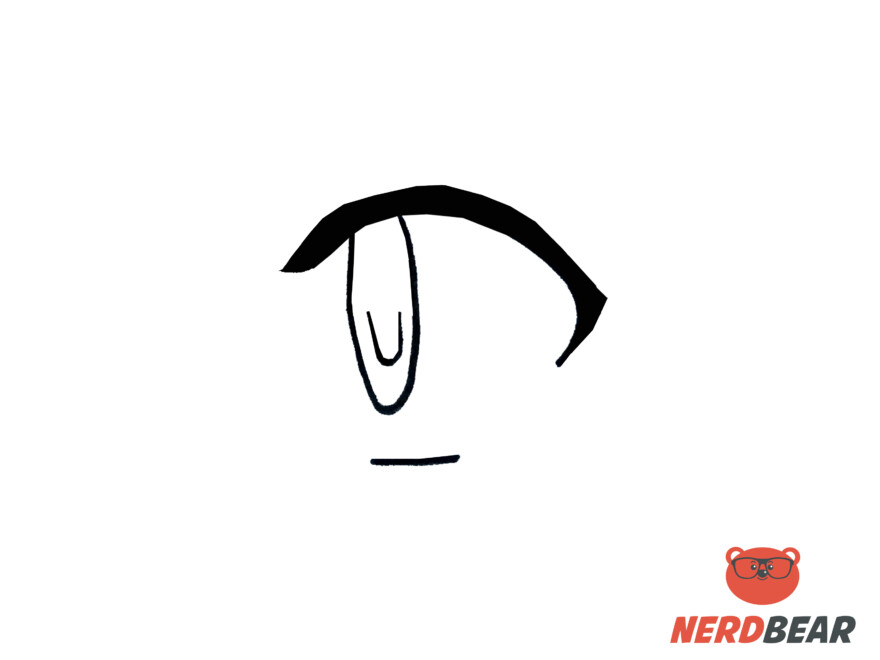 How To Draw Side Profile For Big Anime Eyes 2