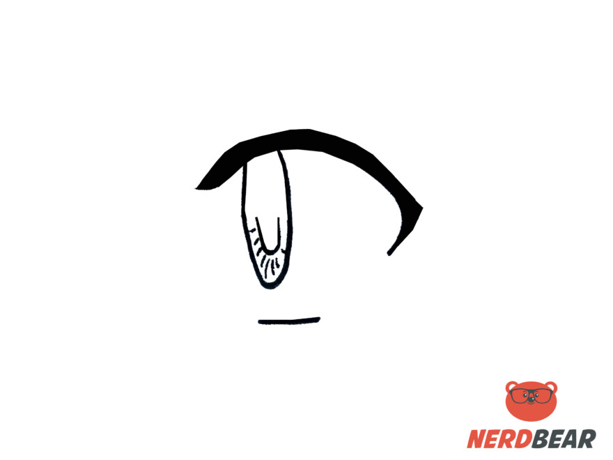 How To Draw Side Profile For Big Anime Eyes 3