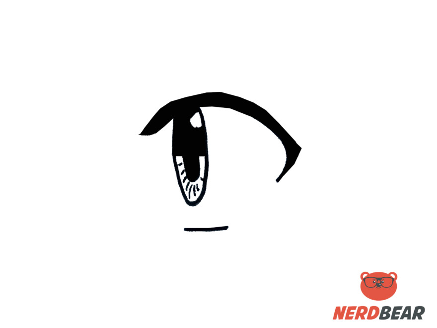 How To Draw Side Profile For Big Anime Eyes 5