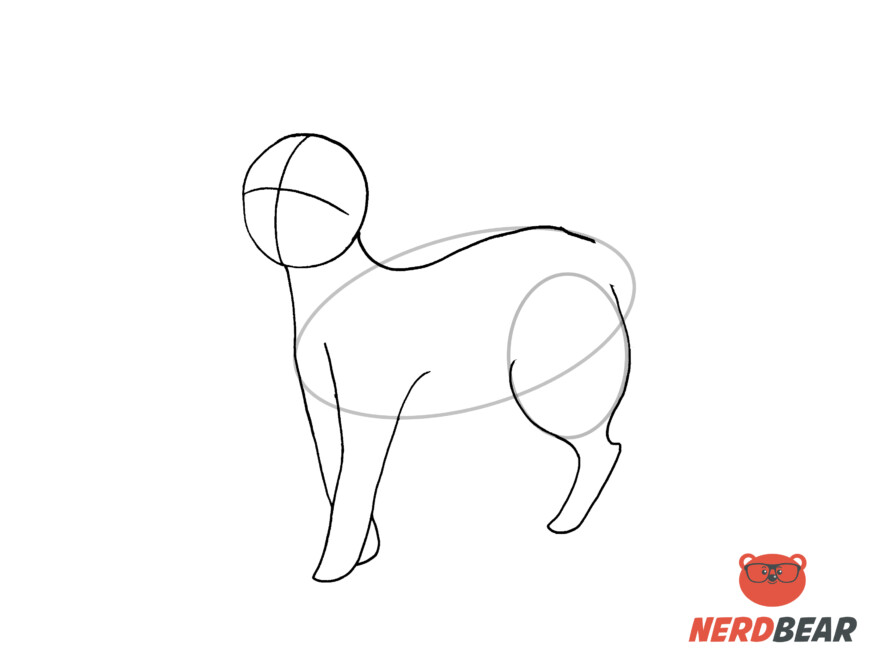 How To Draw A Standing Anime Cat 7