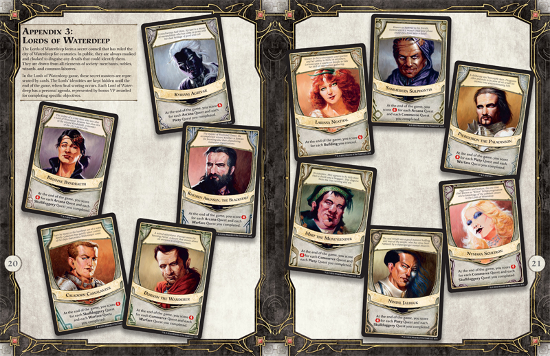 Image result for lords of waterdeep rules