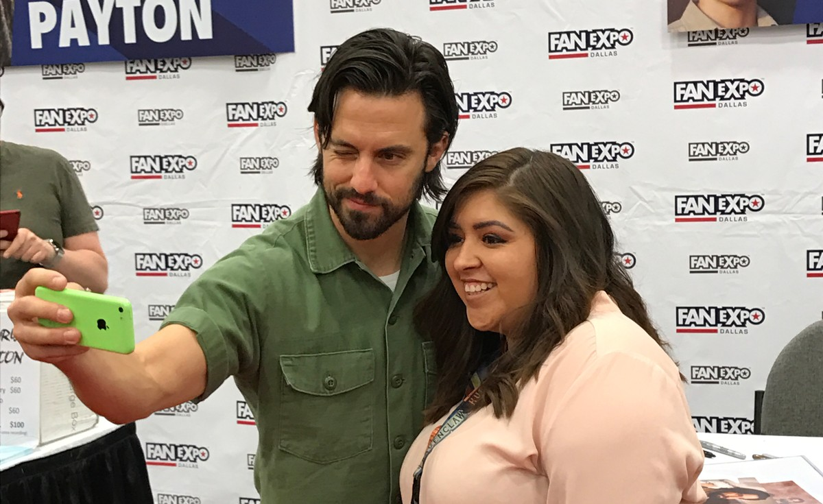 CELEBRITY PHOTO OPS at Fan Expo Dallas 2017