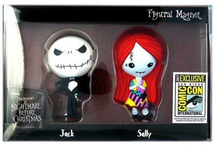 Nerdeek Life 22640-NBC-Figural-Magnet-2pc-Set Monogram International: SDCC 2017 Exclusives Anime Books Conventions Gaming Horror Sci-fi