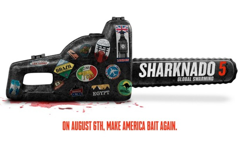 "Nerdeek Life Sharknado-5-News Syfy's Sharknado 5: ""Make America Bait Again"" Nerdeek Life"