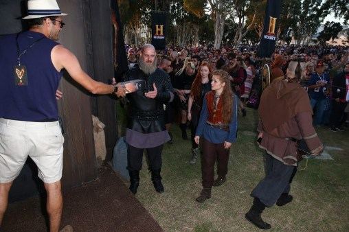 Nerdeek Life 820578448 The History Channel Actually Held a Viking Funeral at Comic Con Conventions