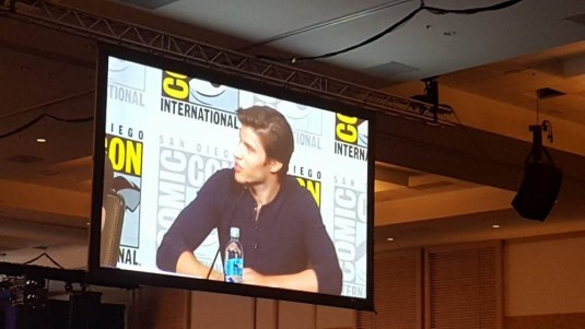 Cameron Cuffe at SDCC panel