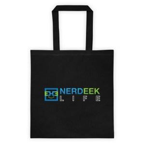 Nerdeek Life mockup-75c4ce4c Tote bag