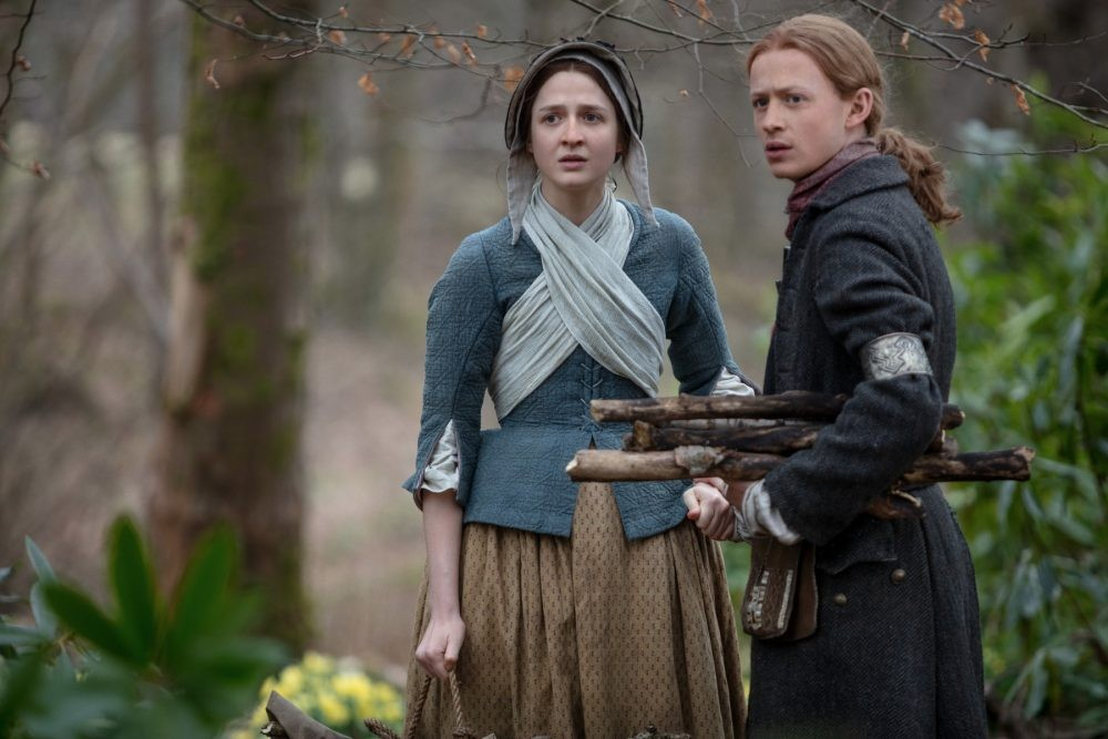 "Nerdeek Life Outlander-4x09-1 We're learning about the ""Birds and the Bees"" on this week's Outlander Nerdeek Life Roundtables"