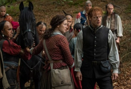 "Nerdeek Life Outlander-4x13-10 Which ""Man of Worth"" was the fan roundtable favorite on the Outlander season 4 finale? Nerdeek Life Roundtables"