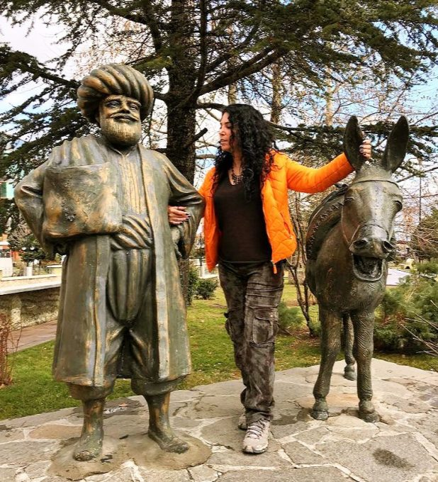 Nasrettin Hoca-Gülmece parkı