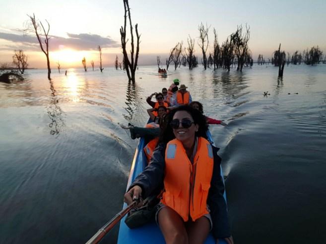 Lake Naivasha Göl Safarisi