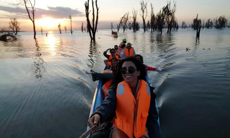 Kenya Göllerin de Soluksuz Safari