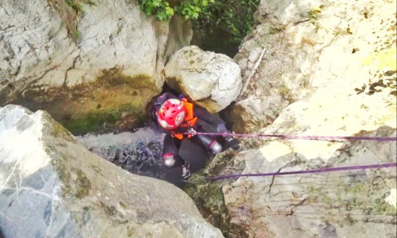Sulu Kanyon Eğitimi, Bilecik Adaca Kanyonu