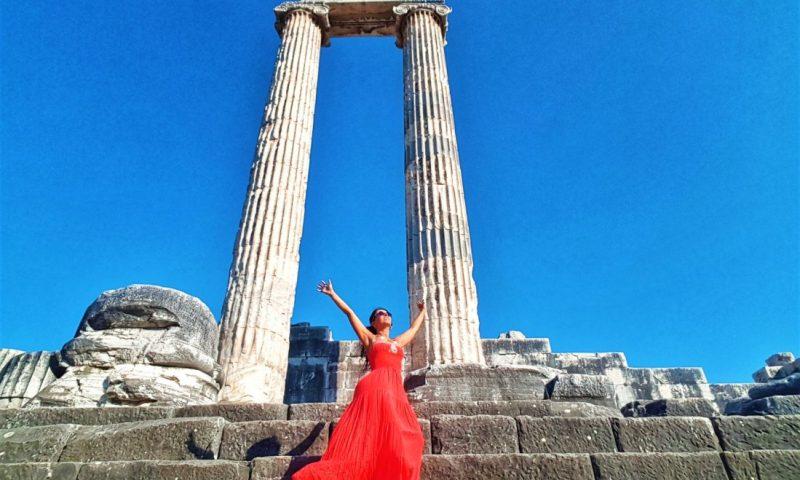 Didim Apollon Tapınağı ve Yılan Saçlı Kadın Medusa