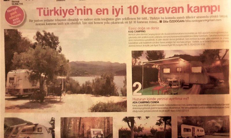 Hürriyet Seyahat, Türkiye'nin En İyi Karavan Kampı Jüri Üyesiydim