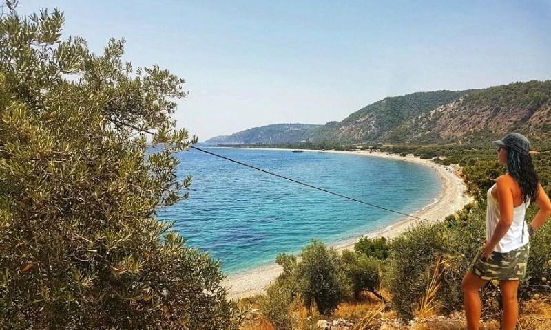 Ege 'de Sessiz Sakin Deniz Arayanlara Bir Rota