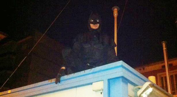 Batman veglia su Isernia!
