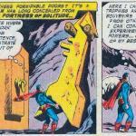 """Durante la Silver Age Superman si """"imborghesisce"""", procurandosi un luogo in cui rilassarsi..."""