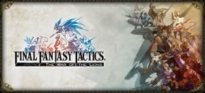 Copertina del porting di Final Fantasy Tactics per PSP