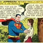 ...e diventa una figura paterna, in questo caso per Supergirl, che senza fiatare accetta di vivere in orfanotrofio. Ai tempi le ragazze erano sicuramente più remissive.