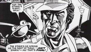 Una vignetta preda da Robo-Hunter