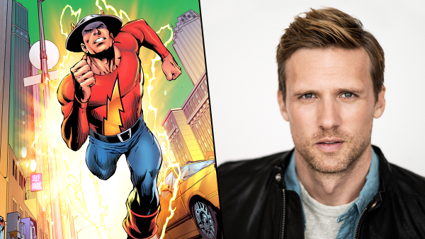 Jay Garrick arriva su The Flash!