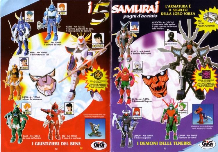 i-5-samurai-pugni-dacciaio