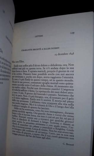 Lettere Charlotte Bronte 2