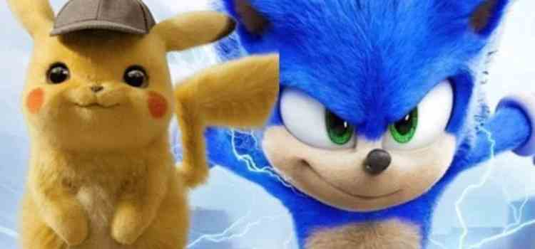 Detective Pickachu e Sonic