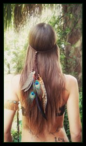 Feathered Gypsy Headband - dieselboutique