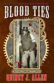 Blood Ties - Quincy J. Allen