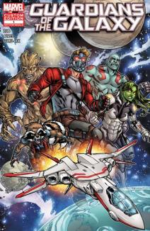 Guardians of the Galaxy by Jim Zub