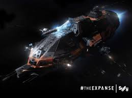 Martian's flexin' their gunships.  The Rocinante! What does it mean? Watch the show, or use a Spanish translator ;)