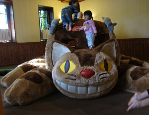 Children's size catbus exhibit.