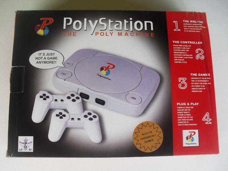 Oi, eu sou o PolyStation, seu amiguinho