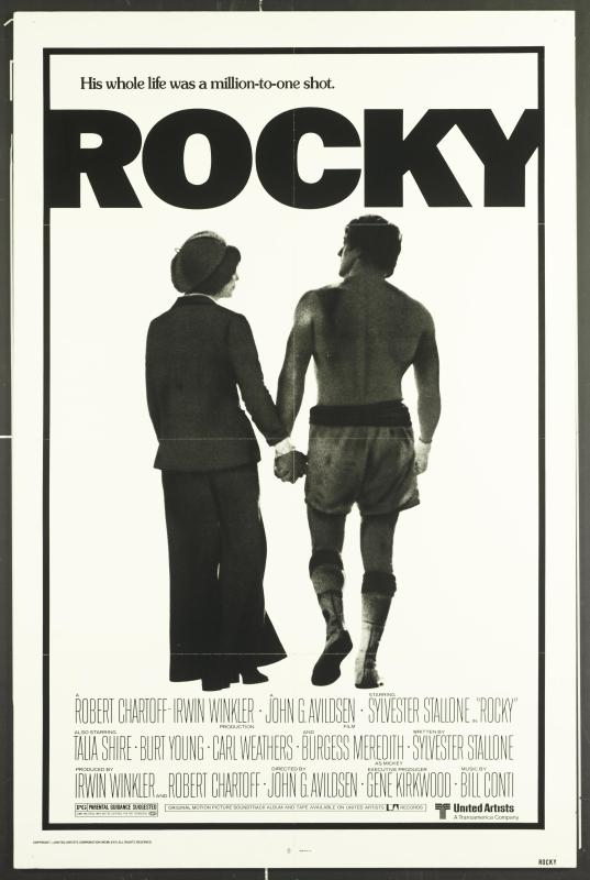 Pôster do filme Rocky (1976)