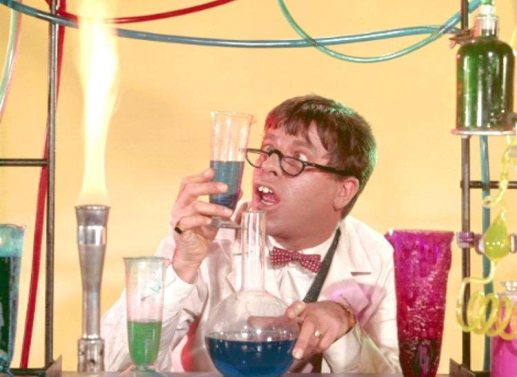 Jerry Lewis em 'O Professor Aloprado', clássico da comédia de 1963