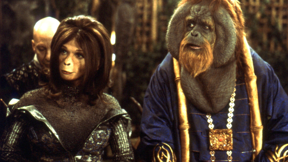 Image result for Planet of the Apes (2001)