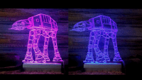 Wed Join the Empire for These Acrylic STAR WARS Desk ...
