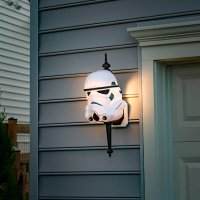 Nothing Says Happy Halloween Like STAR WARS Porch Light ...