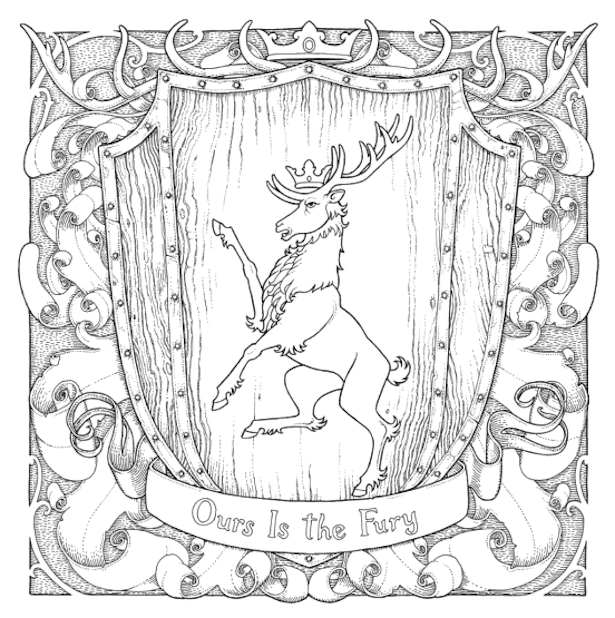 Daenerys Coloring Pages
