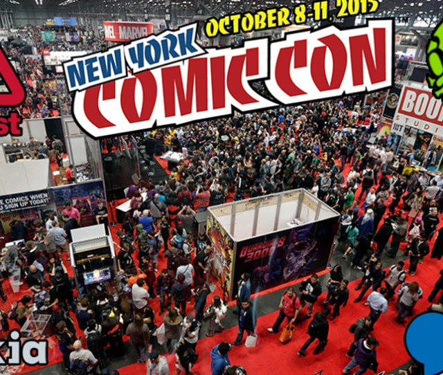 Join Nerdist And Geek Sundry At New York Comic Con