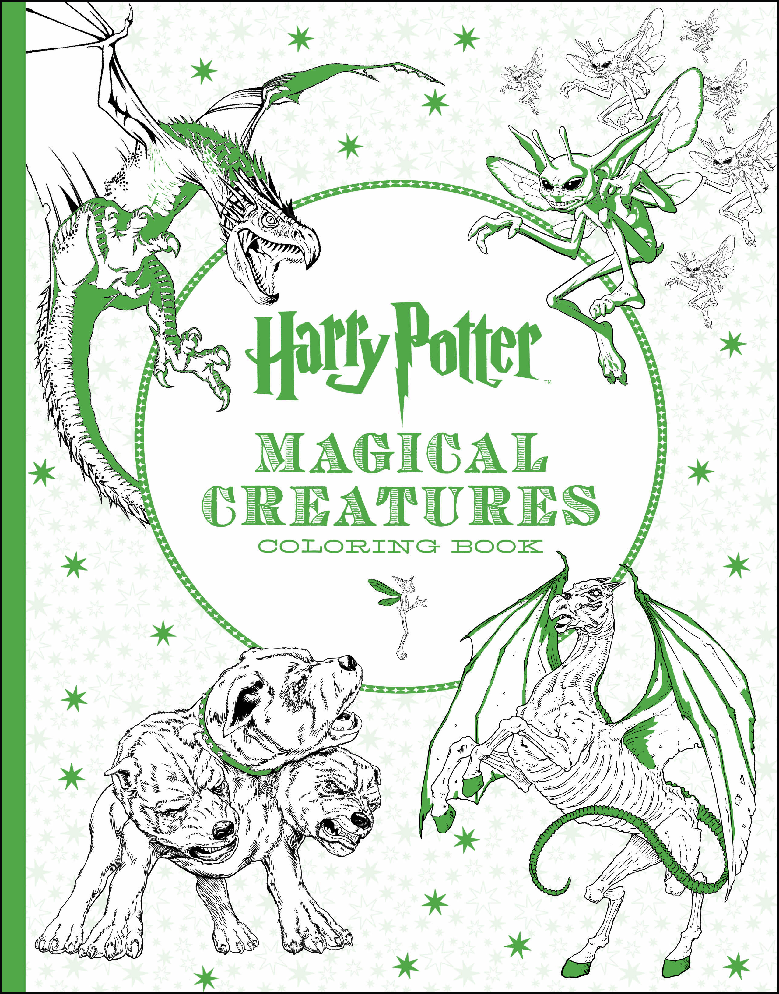 Harry Potter Characters And Places Coloring Book Walmart
