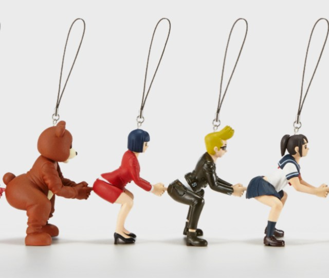 Behold These Delightfully Strange Japanese Butt Poking Figures