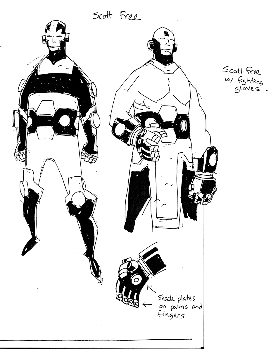 Mike Mignola's Lost NEW GODS Designs Resurface Online